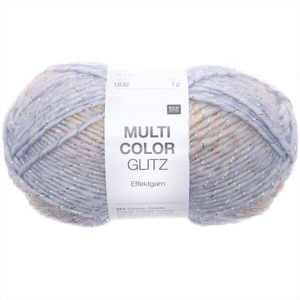 Rico Design Multicolor Glitz pastell Mix 50g 90m