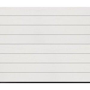 Garagentor IsoMatic 250 cm x 212,5 cm Weiß inkl. Garagentorantrieb