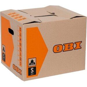 OBI Umzugskarton Basic 51 l 42 cm x 35 cm x 35 cm