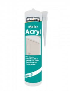 Primaster Maler-Acryl ,  weiß, 310 ml