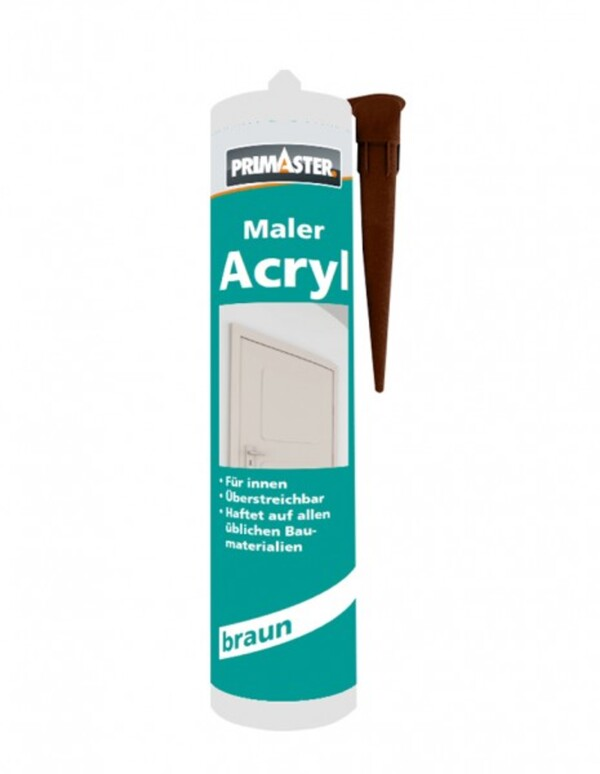 Primaster Maler-Acryl ,  braun, 310 ml