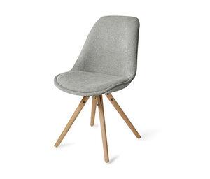 Esszimmer-Stuhl mit Stoffpolster