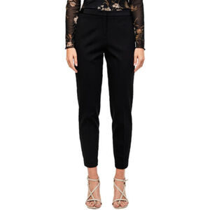 S.Oliver Black Label Joggpants, 7/8, Tapered, Galonstreifen, für Damen