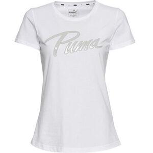 """Puma T-Shirt """"Athletics Tee"""", Logoschriftzug, für Damen"""