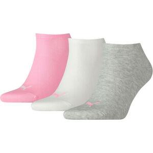 Puma Sneakersocken, Logomotiv, 3er-Pack, für Damen