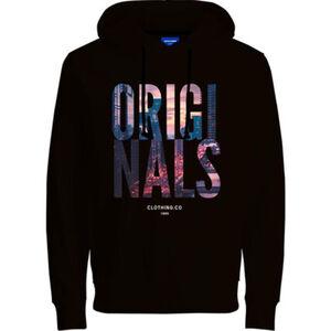 Jack & Jones Originals Sweatshirt, Kapuze, Print, für Herren