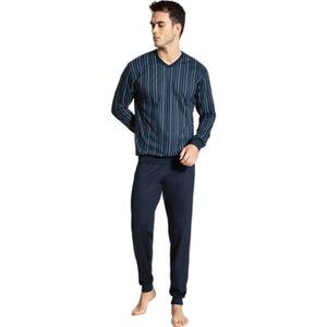 Calida Pyjama, 1/1, Langarm, V-Ausschnitt, für Herren