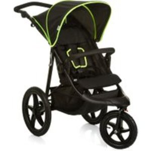 Hauck Jogger Runner black-neon-yellow