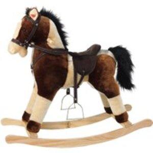 Heunec Schaukel Pferd braun beige mit Sound 74 cm