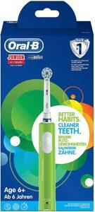 Oral B Elektrische Zahnbürste Junior Green, Aufsteckbürsten: 1 St.
