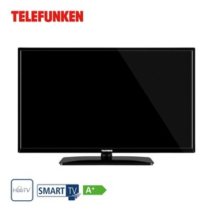 D32H551N1CW • HD-TV • 3 x HDMI, 2 x USB, CI+ • integr. Kabel-, Sat- und DVB-T2-Receiver • Maße: H 43,5 x B 73,4 x T 7,9 cm • Energie-Effizienz A+ (Spektrum A+++ bis D)  • Bildschirmdiago