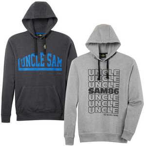 UNCLE SAM  Herren-Hoody