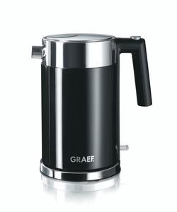 Graef Wasserkocher 1,5 Liter Edelstahl mit Kalkfilter WK62EU