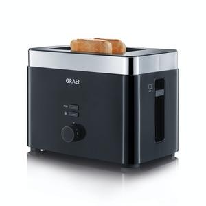 Graef 2-Scheiben Toaster mit Brötchenaufsatz TO62EU