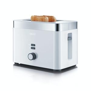 Graef 2-Scheiben Toaster mit Brötchenaufsatz TO61EU