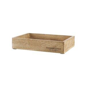 STANDARD SUPPLY Holzkasten rechteckig L 25 x B 18cm