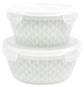 Mäser Porzellan Schüssel-Set, blau