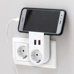 Powertec Electric Adapter mit Handyhalterung