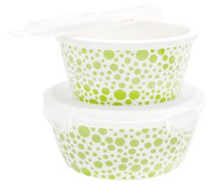 Mäser Porzellan Schüssel-Set, grün