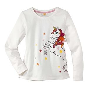 Kinder-Mädchen-Shirt mit traumhaftem Einhorn