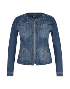 Bexleys woman - Jeans-Cardigan mit Zierdetails