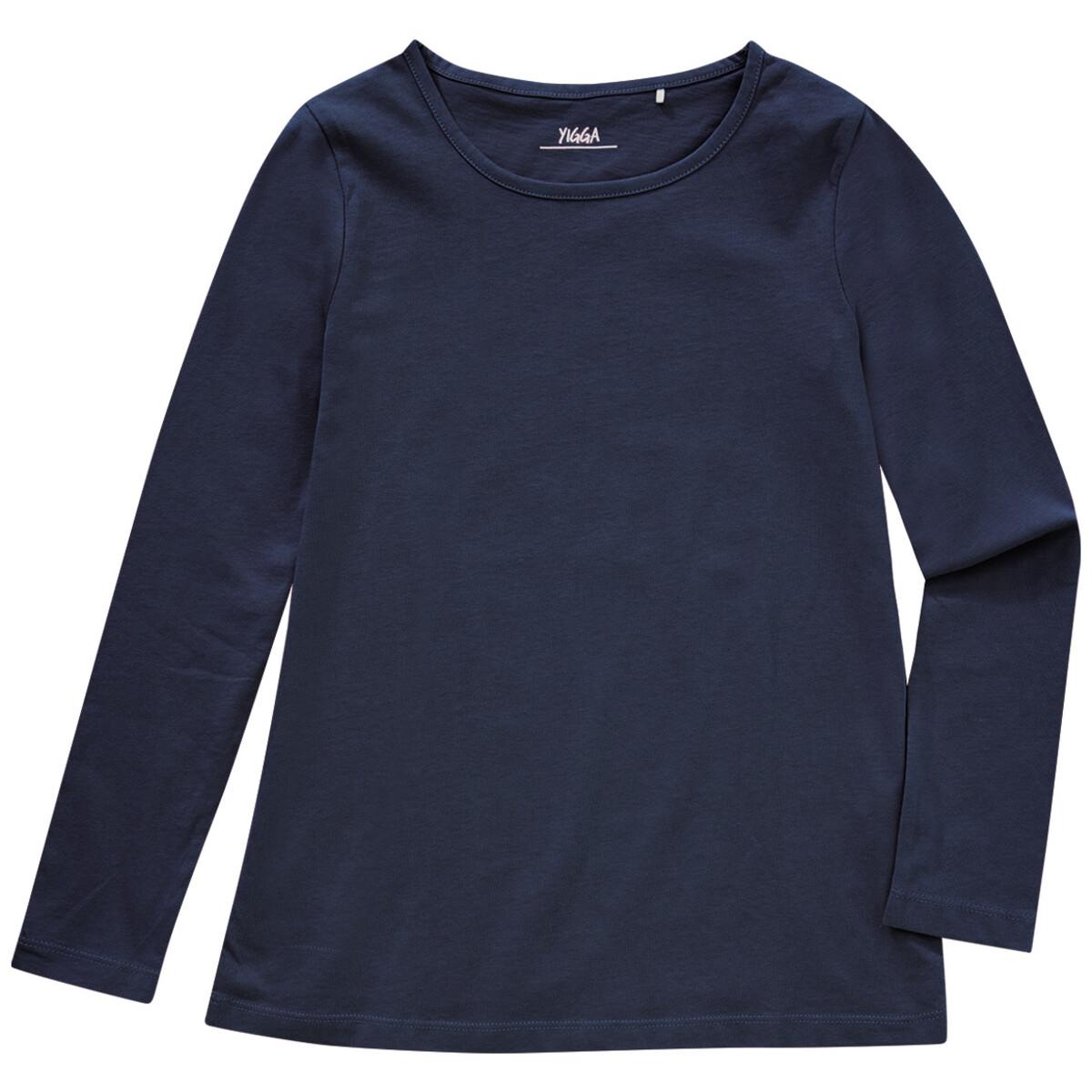 Bild 1 von Mädchen Langarmshirt im Basic-Look