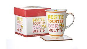 RITZENHOFF & BREKER Becher mit Untersetzer BESTE TOCHTER