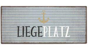Geschenk für Dich Schild Liegeplatz 30,5x13 cm