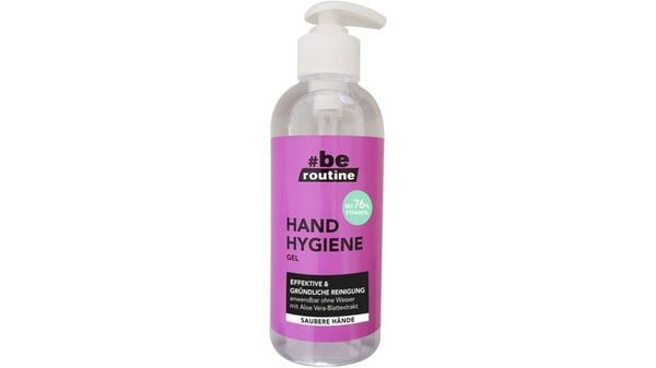 #be routine Hand Hygiene Gel