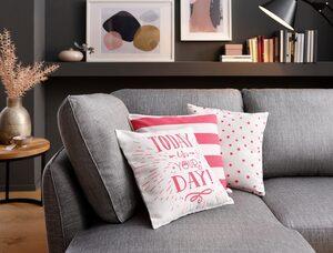 Kissenhüllen »Lara«, my home (3 Stück), Set in tollen Designs