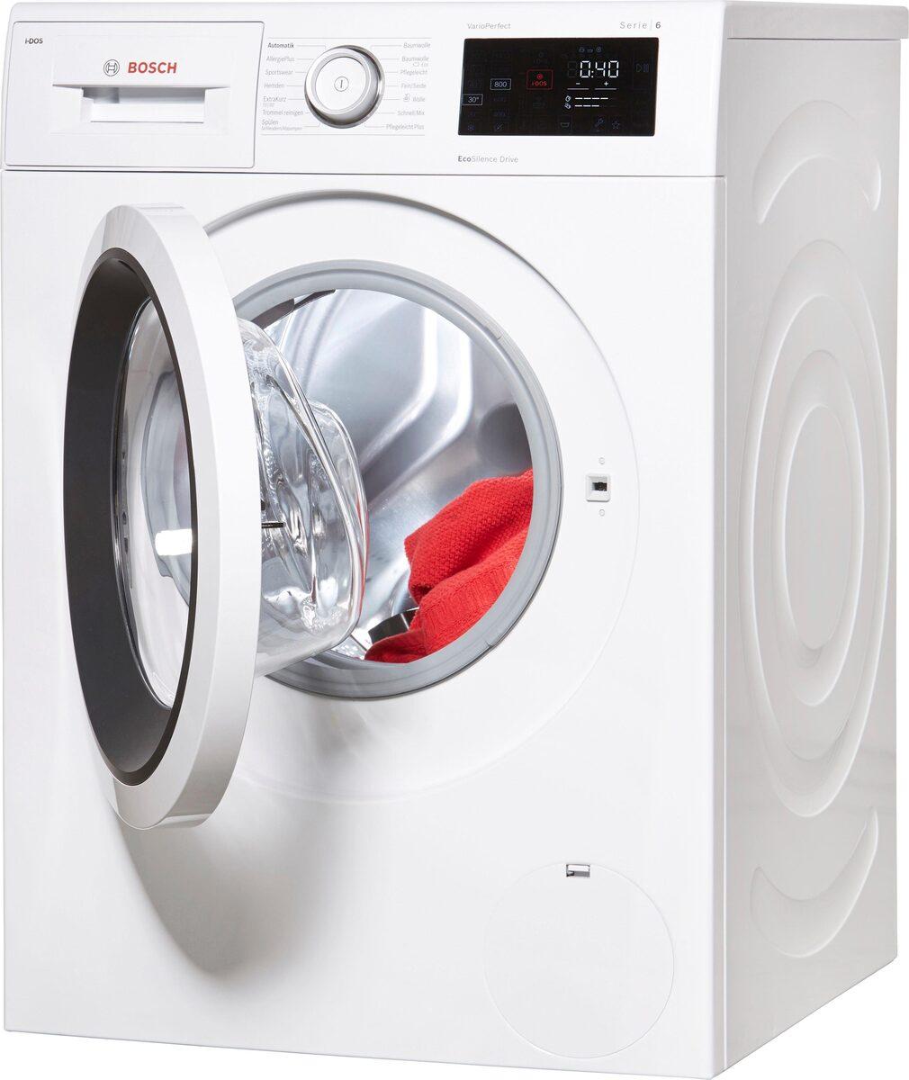 Bild 2 von BOSCH Waschmaschine Serie 6 WAT286V0, 8 kg, 1400 U/Min, i-Dos Dosierautomatik
