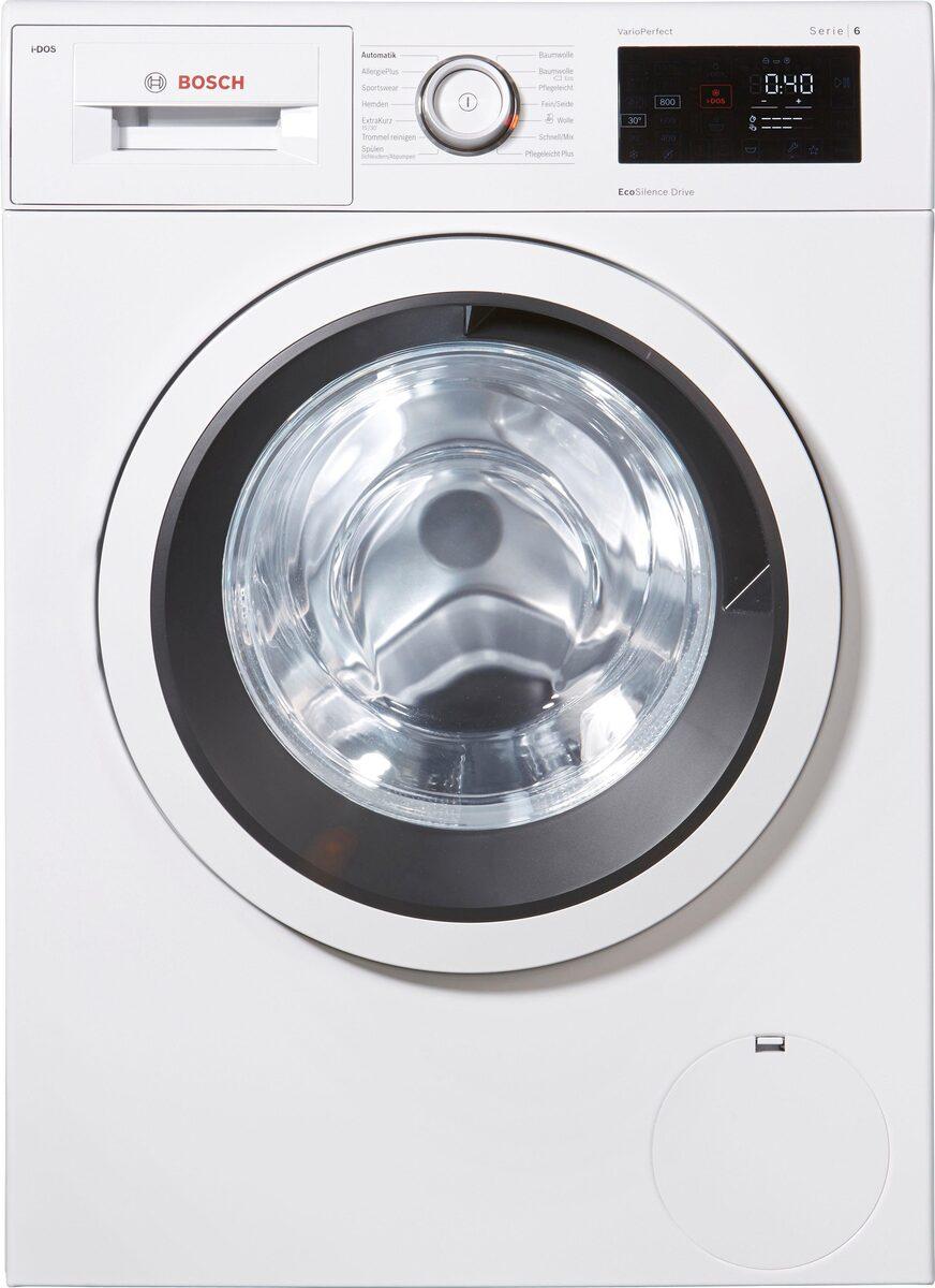 Bild 3 von BOSCH Waschmaschine Serie 6 WAT286V0, 8 kg, 1400 U/Min, i-Dos Dosierautomatik