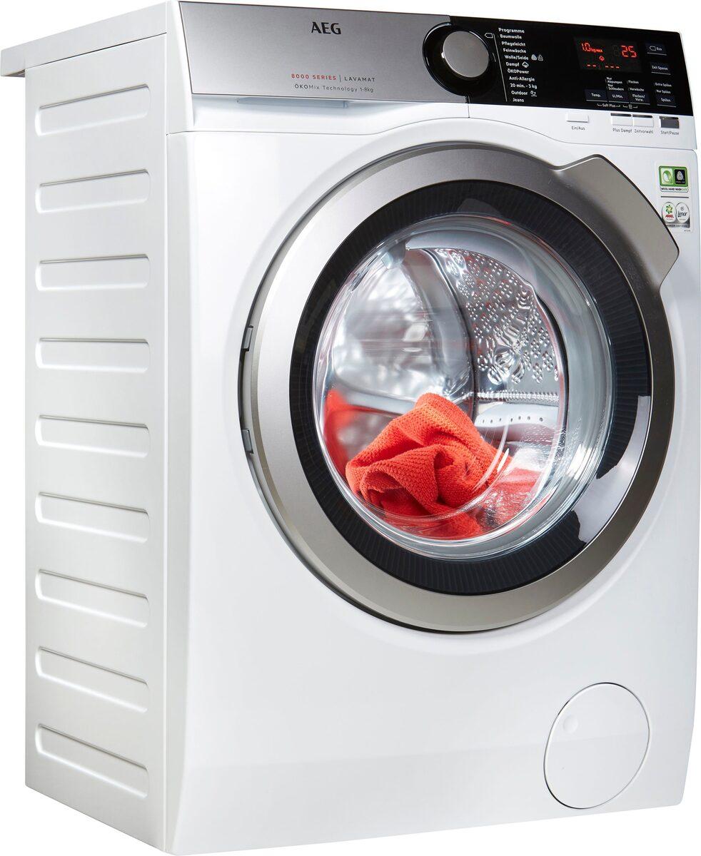 Bild 1 von AEG Waschmaschine Serie 8000 LAVAMAT L8FE74485, 8 kg, 1400 U/Min, ÖKOMix - Faserschutz
