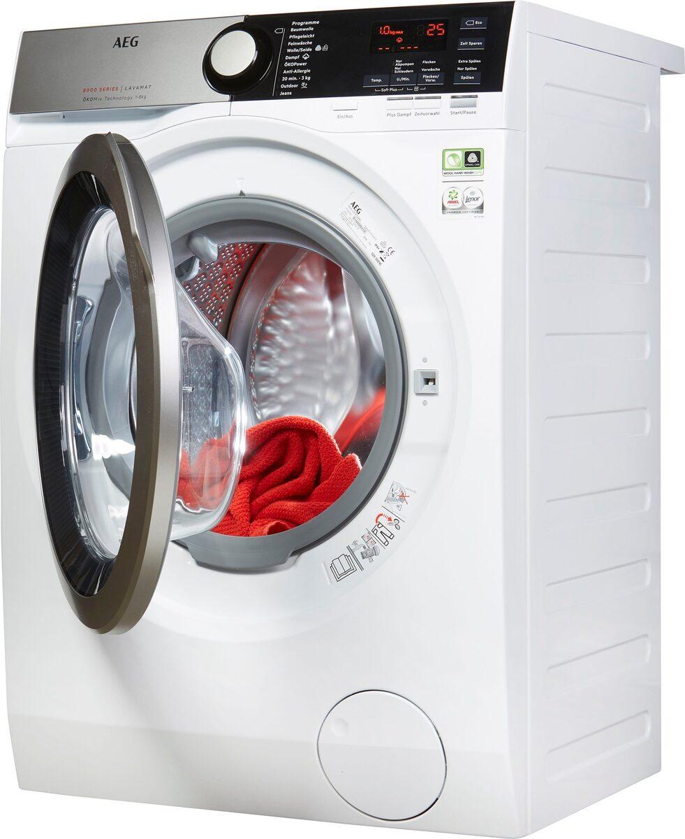 Bild 2 von AEG Waschmaschine Serie 8000 LAVAMAT L8FE74485, 8 kg, 1400 U/Min, ÖKOMix - Faserschutz