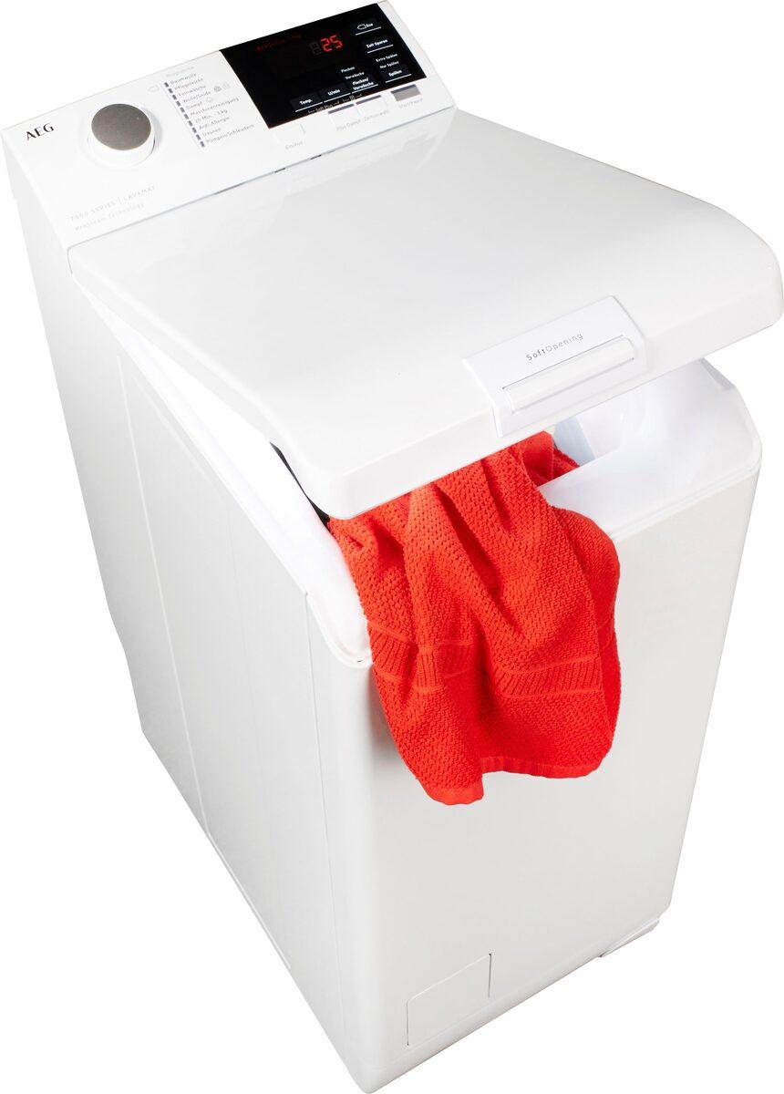 Bild 1 von AEG Waschmaschine Toplader Serie 7000 L7TB27TL, 7 kg, 1200 U/Min, ProSteam - Auffrischfunktion