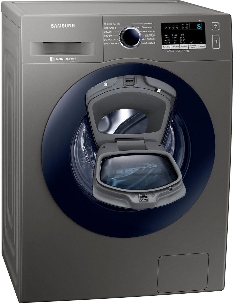Bild 2 von Samsung Waschmaschine WW7EK44205X, 7 kg, 1400 U/Min, AddWash