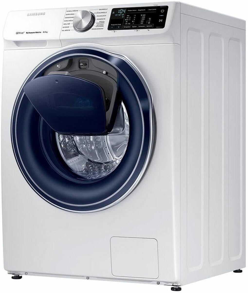 Bild 1 von Samsung Waschmaschine QuickDrive AddWash WW6800 WW8EM642OPW, 8 kg, 1400 U/Min, QuickDrive & WiFi-Steuerung
