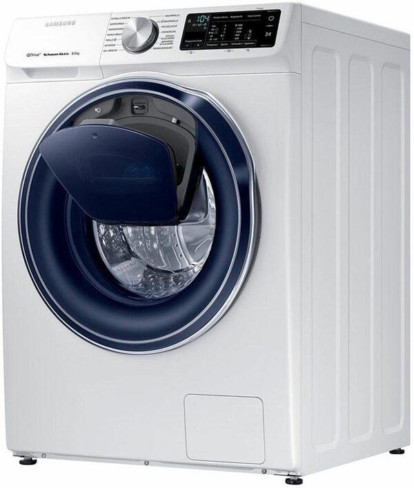 Samsung Waschmaschine QuickDrive AddWash WW6800 WW8EM642OPW, 8 kg, 1400 U/Min, QuickDrive & WiFi-Steuerung