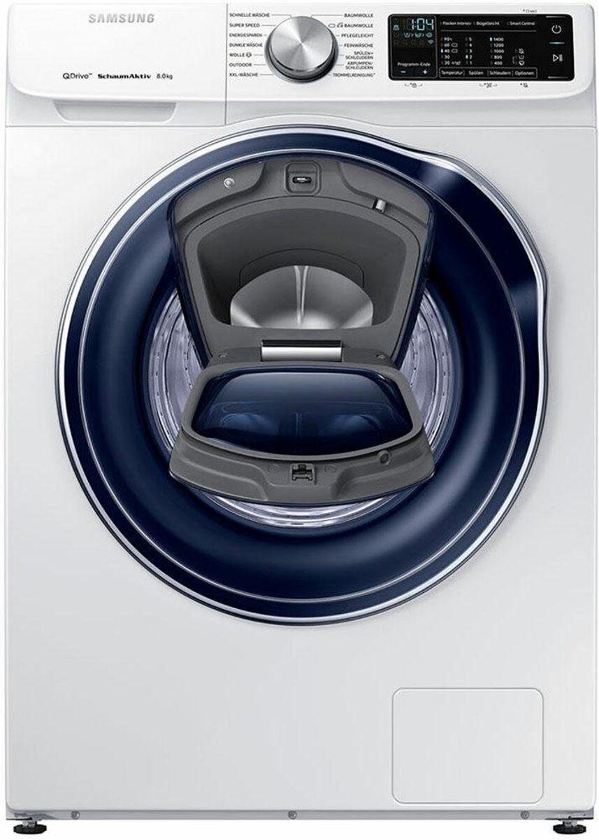 Bild 3 von Samsung Waschmaschine QuickDrive AddWash WW6800 WW8EM642OPW, 8 kg, 1400 U/Min, QuickDrive & WiFi-Steuerung