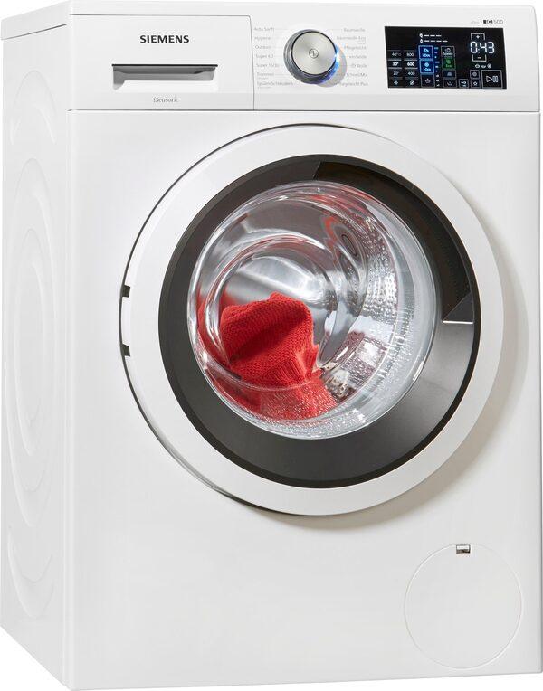SIEMENS Waschmaschine iQ500 WM14T641, 8 kg, 1400 U/Min, i-Dos Dosierautomatik