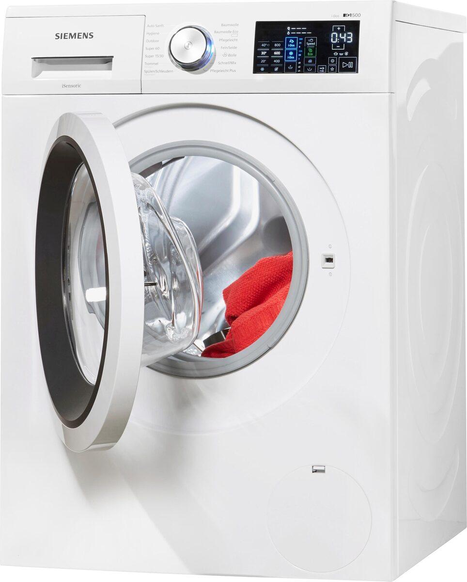 Bild 2 von SIEMENS Waschmaschine iQ500 WM14T641, 8 kg, 1400 U/Min, i-Dos Dosierautomatik