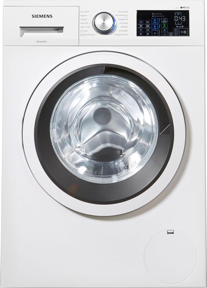 Bild 3 von SIEMENS Waschmaschine iQ500 WM14T641, 8 kg, 1400 U/Min, i-Dos Dosierautomatik