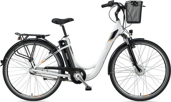 Telefunken E-Bike »Multitalent RC830«, 3 Gang Shimano Nexus Schaltwerk, Frontmotor 250 W, mit Fahrradkorb