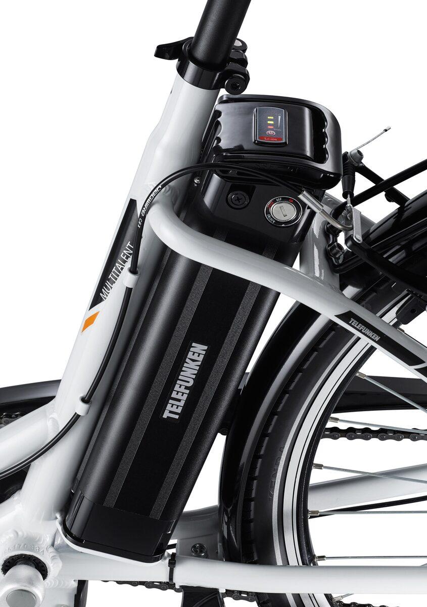 Bild 3 von Telefunken E-Bike »Multitalent RC830«, 3 Gang Shimano Nexus Schaltwerk, Frontmotor 250 W, mit Fahrradkorb