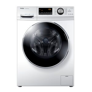 Haier Waschmaschine HW80-B14636, 8 kg, 1400 U/Min, Direct Motion Motor Vollwasserschutz Schontrommel aus Edelstahl