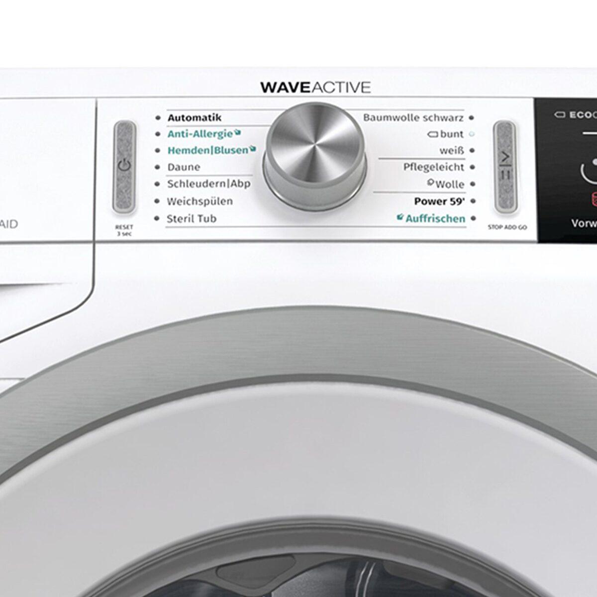 Bild 3 von GORENJE Waschmaschine WA74S3PS, 7 kg, 1400 U/Min, LED Display WaveActive Trommel Inverter PowerDrive Motor