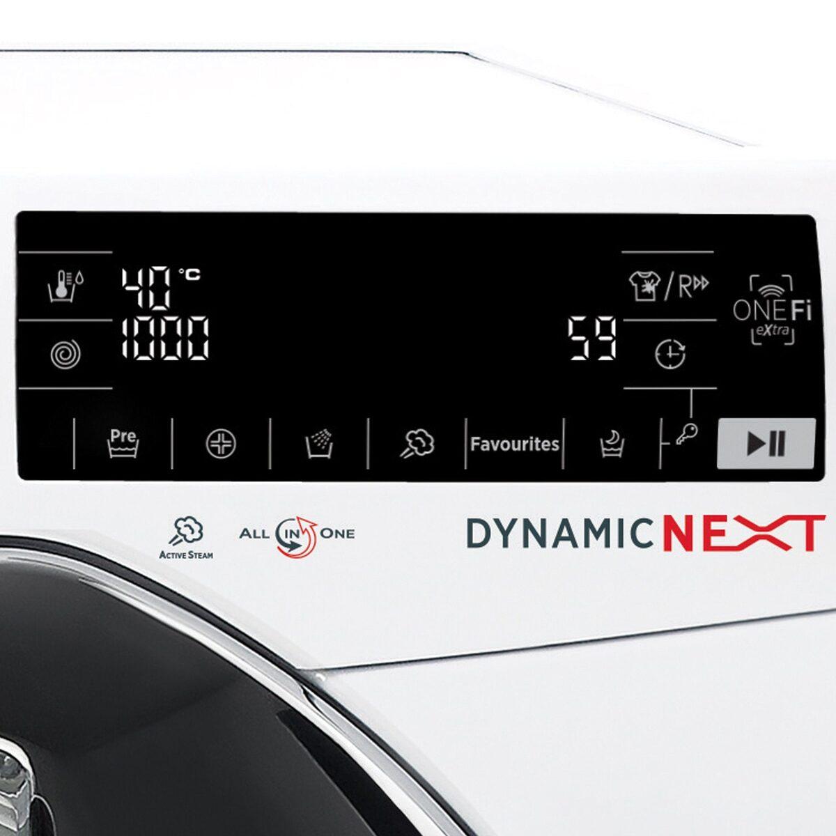 Bild 4 von Hoover Waschmaschine DWOT 611AHC3/1-S, 11 kg, 1600 U/Min, Invertermotor, Mengenautomatik, All in One 59 min., NFC- und WiFi-Technologie
