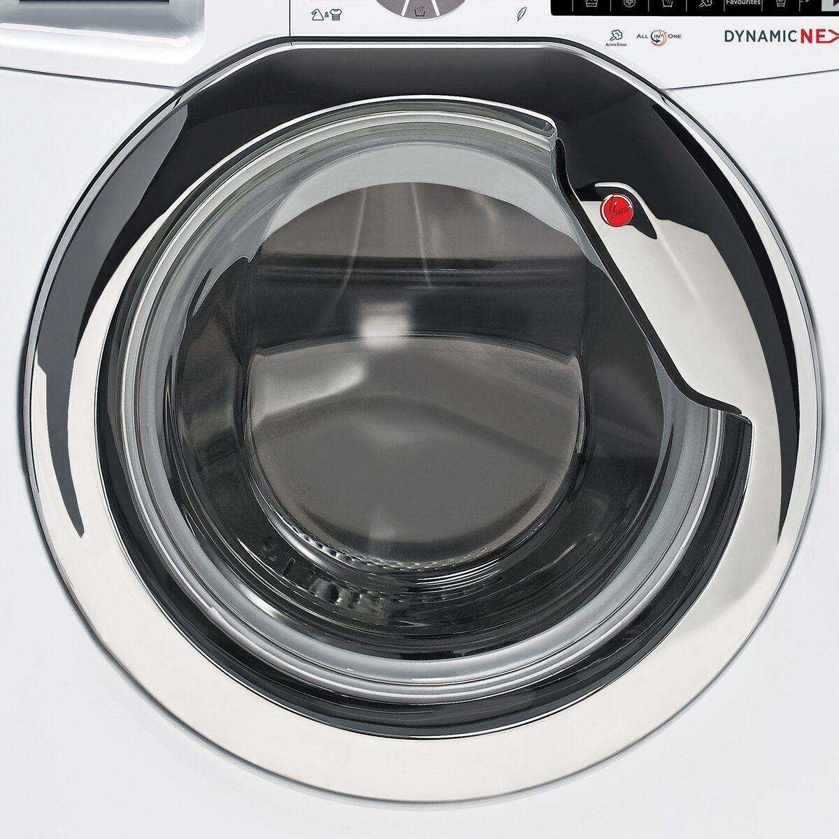 Bild 5 von Hoover Waschmaschine DWOT 611AHC3/1-S, 11 kg, 1600 U/Min, Invertermotor, Mengenautomatik, All in One 59 min., NFC- und WiFi-Technologie