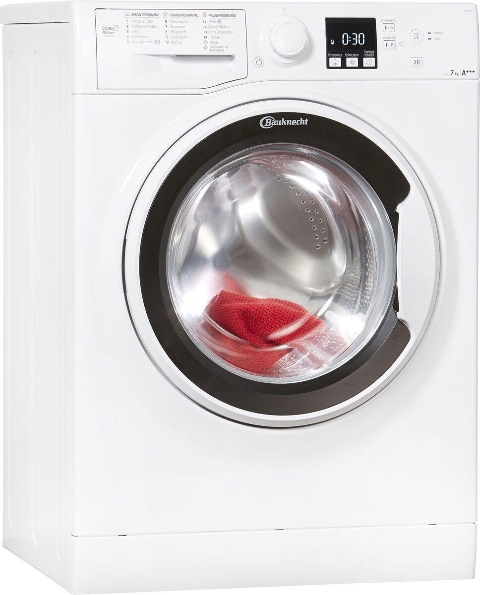 Bild 1 von BAUKNECHT Waschmaschine WA Soft 7F4, 7 kg, 1400 U/Min