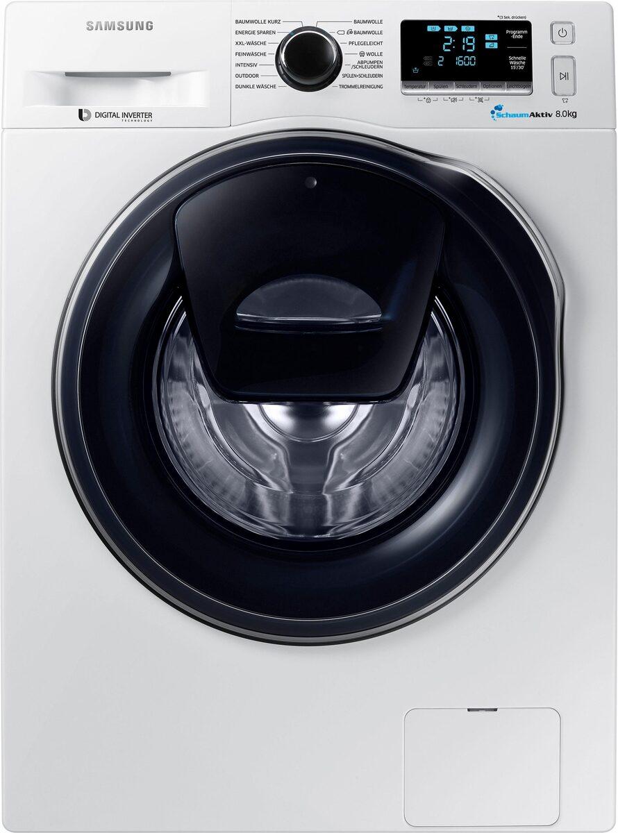 Bild 2 von Samsung Waschmaschine AddWash WW6400 WW8GK6400QW, 8 kg, 1400 U/Min, AddWash